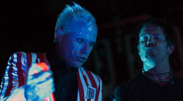 Keith Flint with The Prodigy guitarist Rob Holliday - photo by Sc0RcH - da Wikipedia