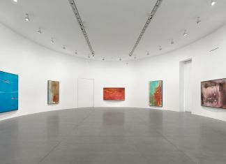 Helen Frankenthaler. Sea Change. Installation view at Gagosian, Roma 2019. Artwork © 2019 Helen Frankenthaler Foundation, Inc.-Artists Rights Society (ARS), New York. Photo Matteo D'Eletto, M3 Studio. Courtesy Gagosian