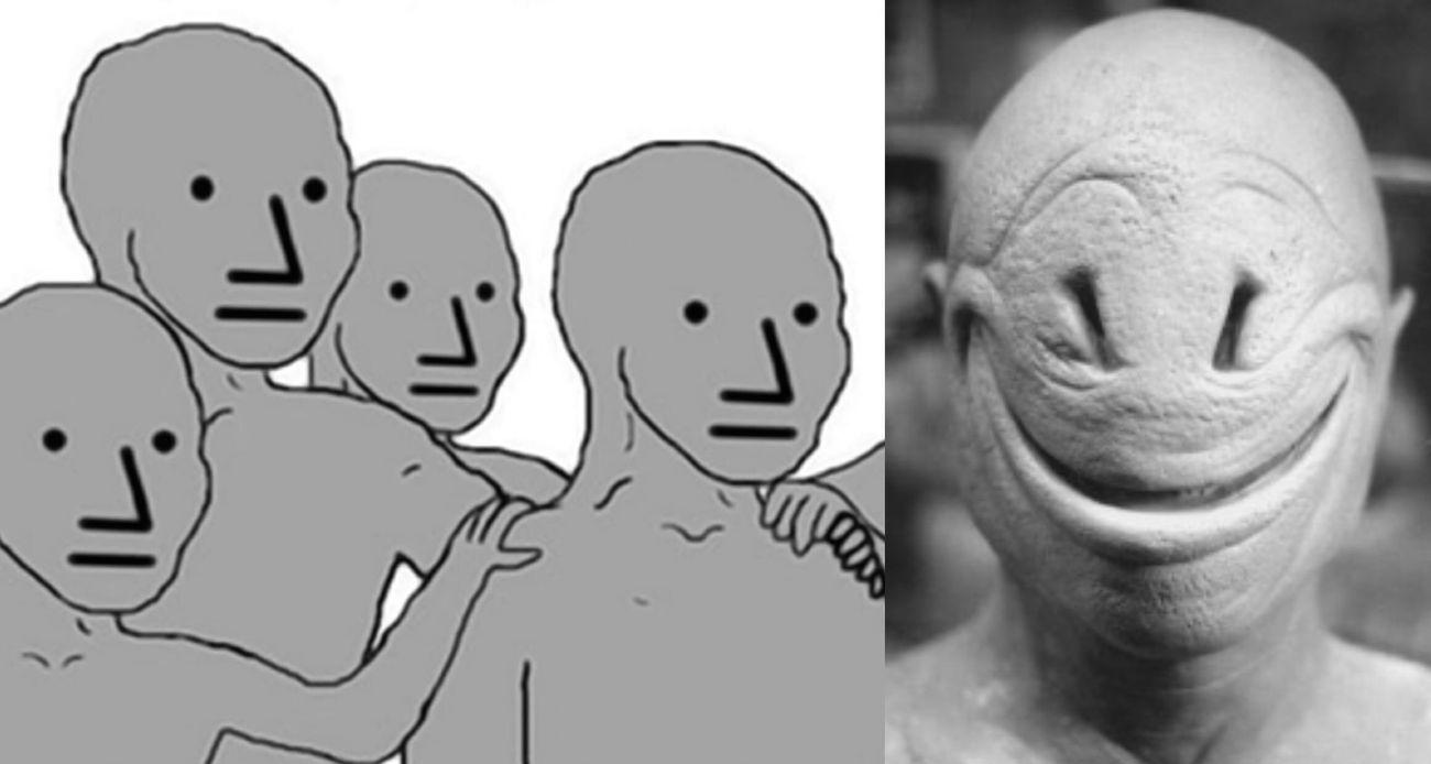 Il meme NPC e il demone NHGH, che dà il volto ai Normals