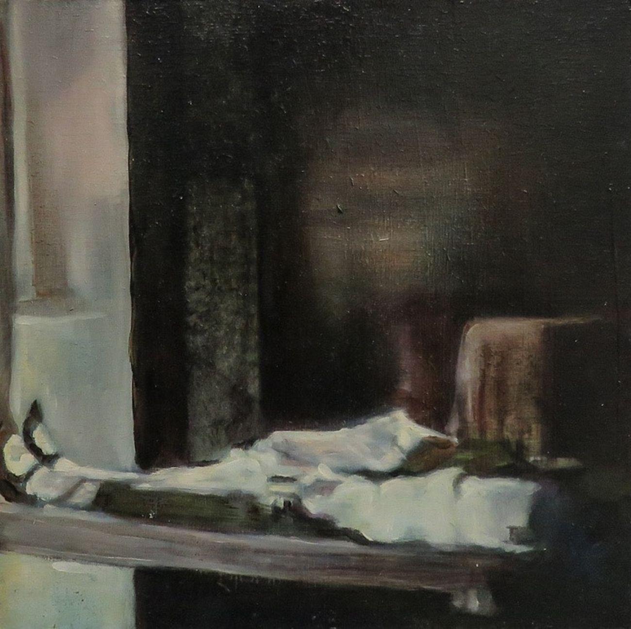 Iva Lulashi, Untitled, 2018, olio su tela, 20x20 cm. Courtesy Prometeogallery di Ida Pisani, Milano Lucca