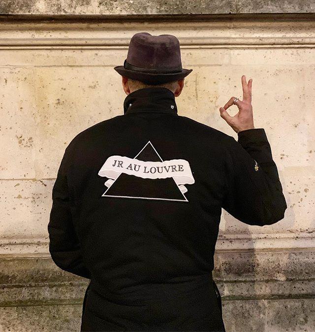 JR al Louvre. Ph. jr-art.net
