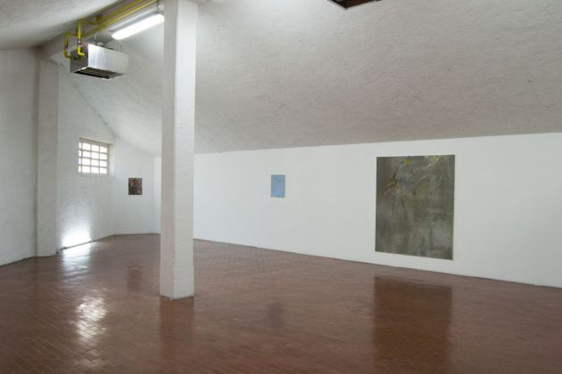 Jacopo Casadei, This is nowhere, 2015. Installation view at Yellow, Varese