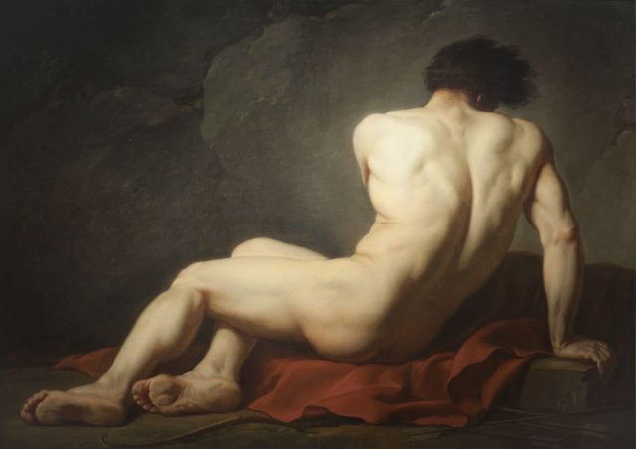Jacques-Luis David, Nudo maschile detto Patroclo, 1780 © Cherbourg en Cotentin, Musée Thomas Henry