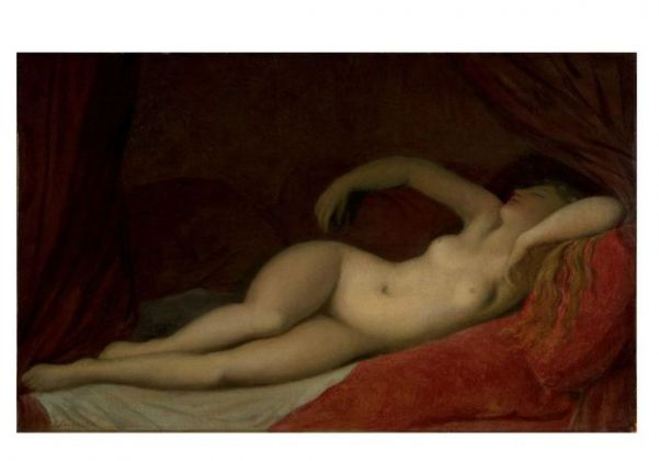 Jean-Auguste-Dominique Ingres, Dormeuse, 1820 ca. Victoria and Albert Museum, Londra