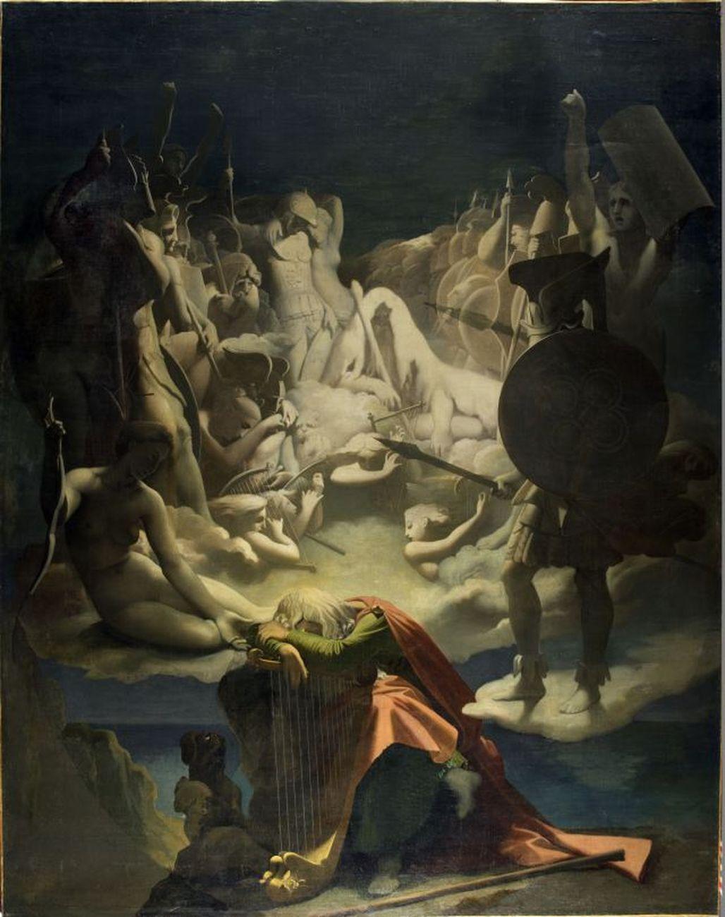 Adèle Chavassieu d'Haudebert da Andrea Appiani, Venere che accarezza Amore. Pinacoteca di Brera, Milano