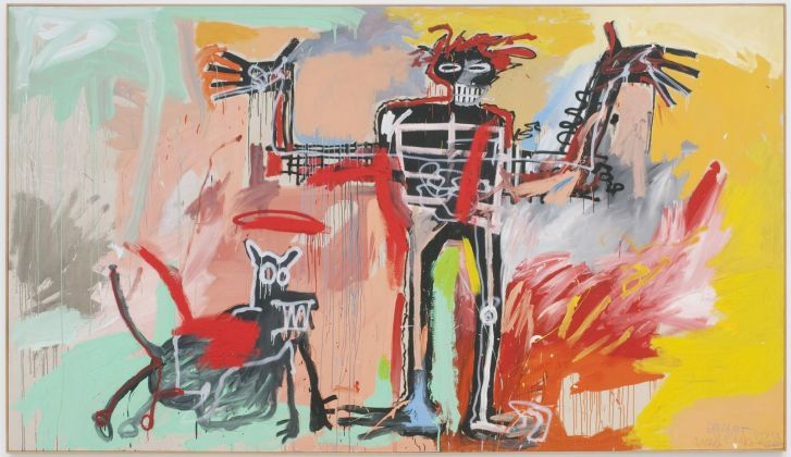 Jean-Michel Basquiat, Boy and Dog in a Johnnypump, 1982. Courtesy The Brant Foundation, Greenwich, CT © Estate of Jean Michel Basquiat. Licensed by Artestar, New York