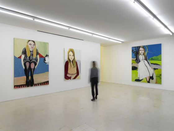 Joffe room Chantal Joffe Dalla mostra / From the exhibition Moll, 2014 Collezione Maramotti, Reggio Emilia, 2019 Ph. Dario Lasagni