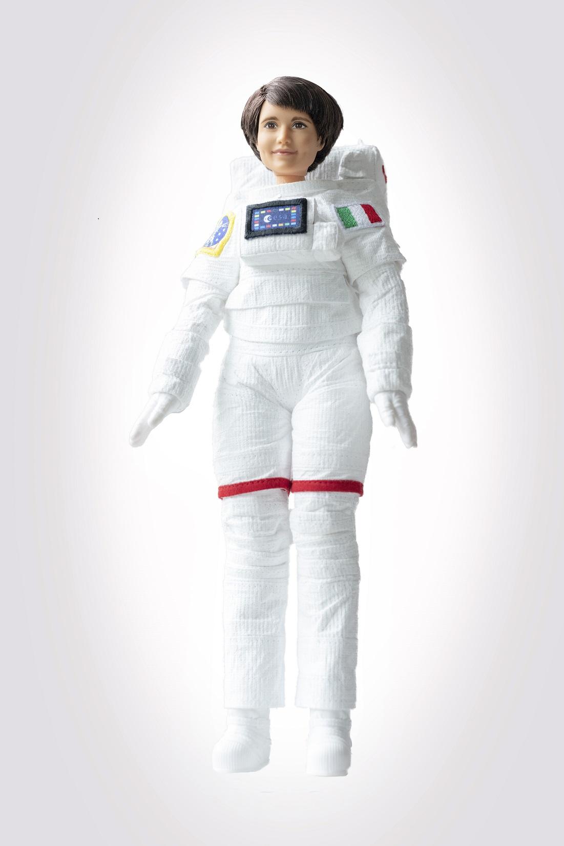 La Barbie ispirata all'astronauta Samantha Cristoforetti
