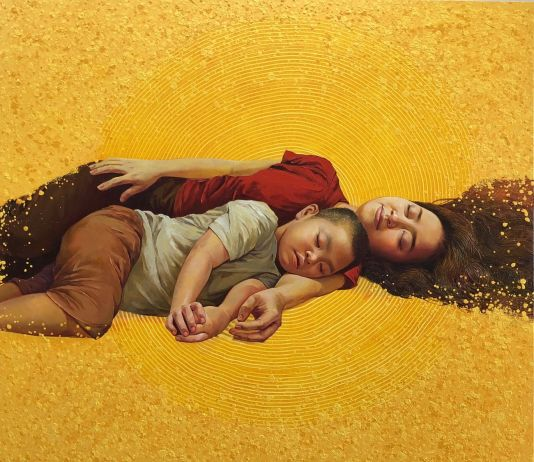 Lim Khim Katy, Mother's Arms, 2018. Courtesy Craig Thomas Gallery, Ho Chi Minh City