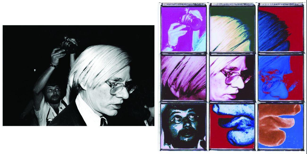 Luigi Guzzardi, Andy Warhol, Palazzo delle Prigioni, Venezia, 1977 e Carlo Chiapponi
