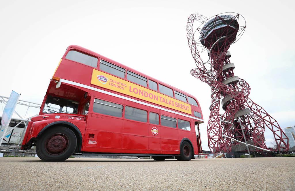 Il bus della Brexit