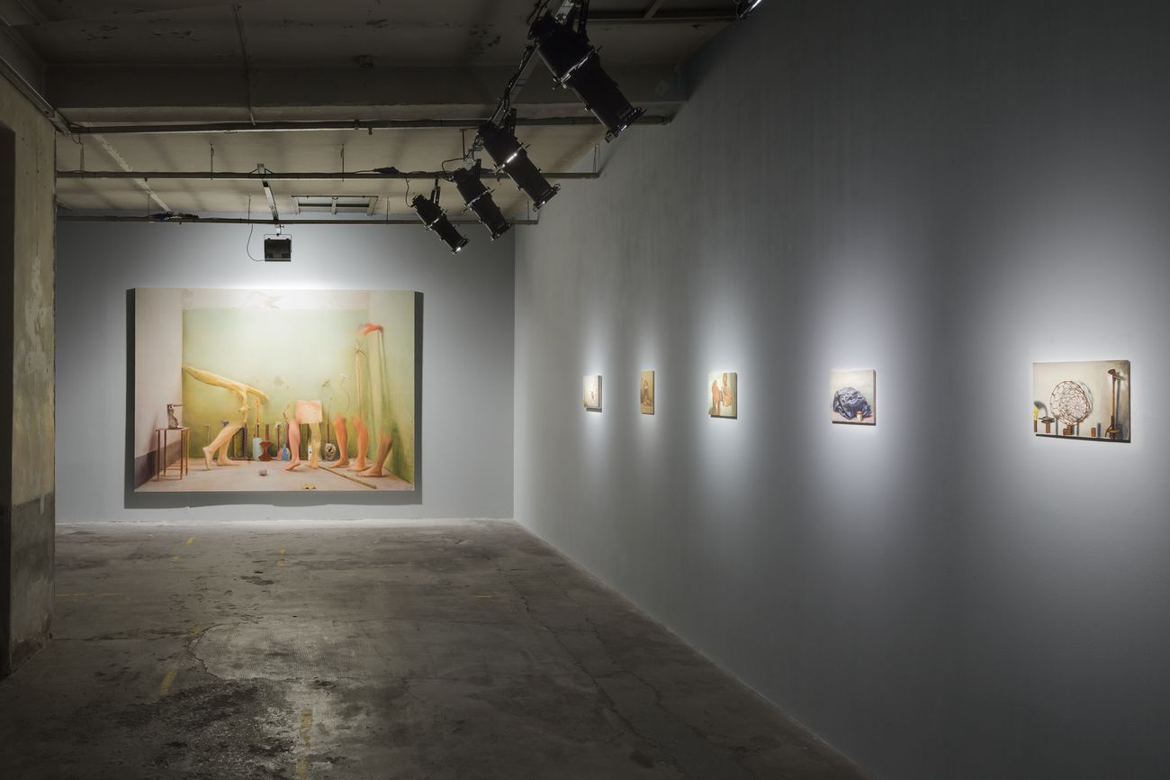 Manuele Cerutti, Motus naturalis, installation view at Guido Costa Projects, Torino 2018. Photo Cristina Leoncini