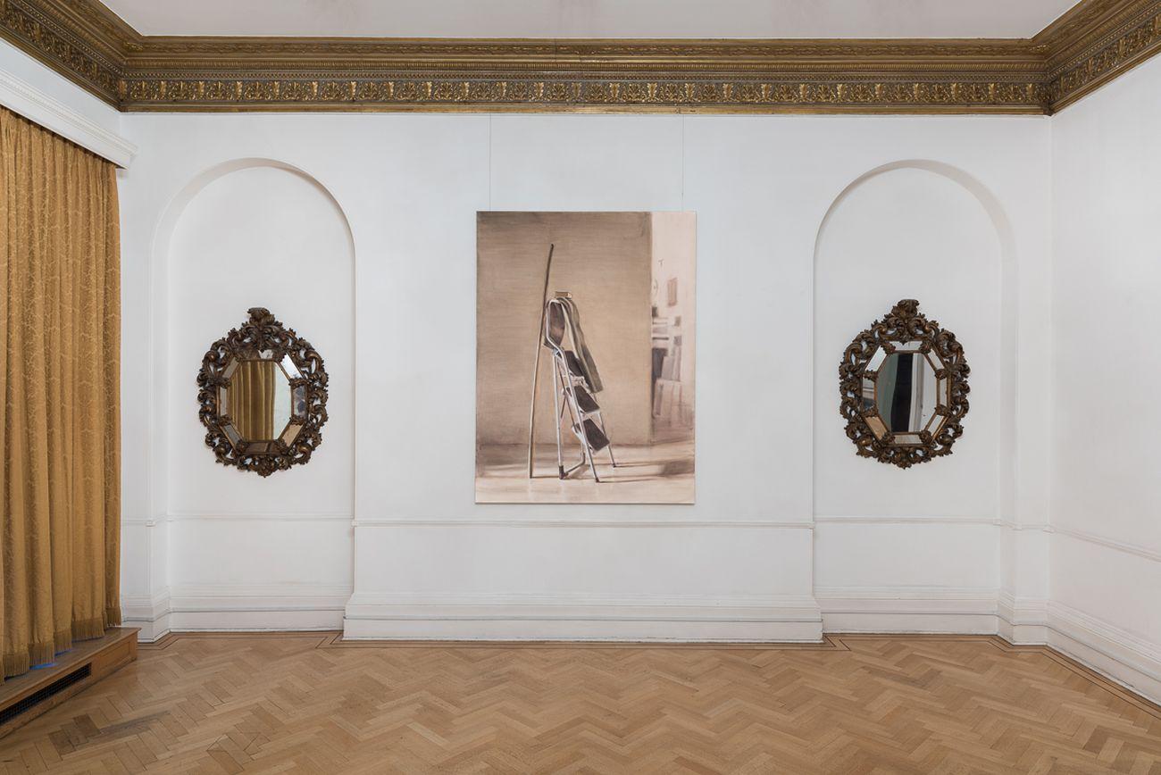 Manuele Cerutti, Proprioception, installation view at Istituto Italiano di Cultura, Londra 2016. Photo Cristina Leoncini