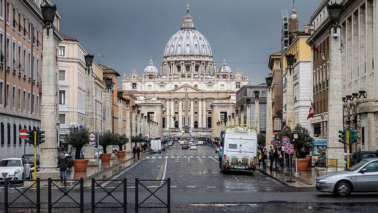 Marcello Piacentini, Viale della Conciliazione, Roma. Photo N i c o l a via Flickr, novembre 2013