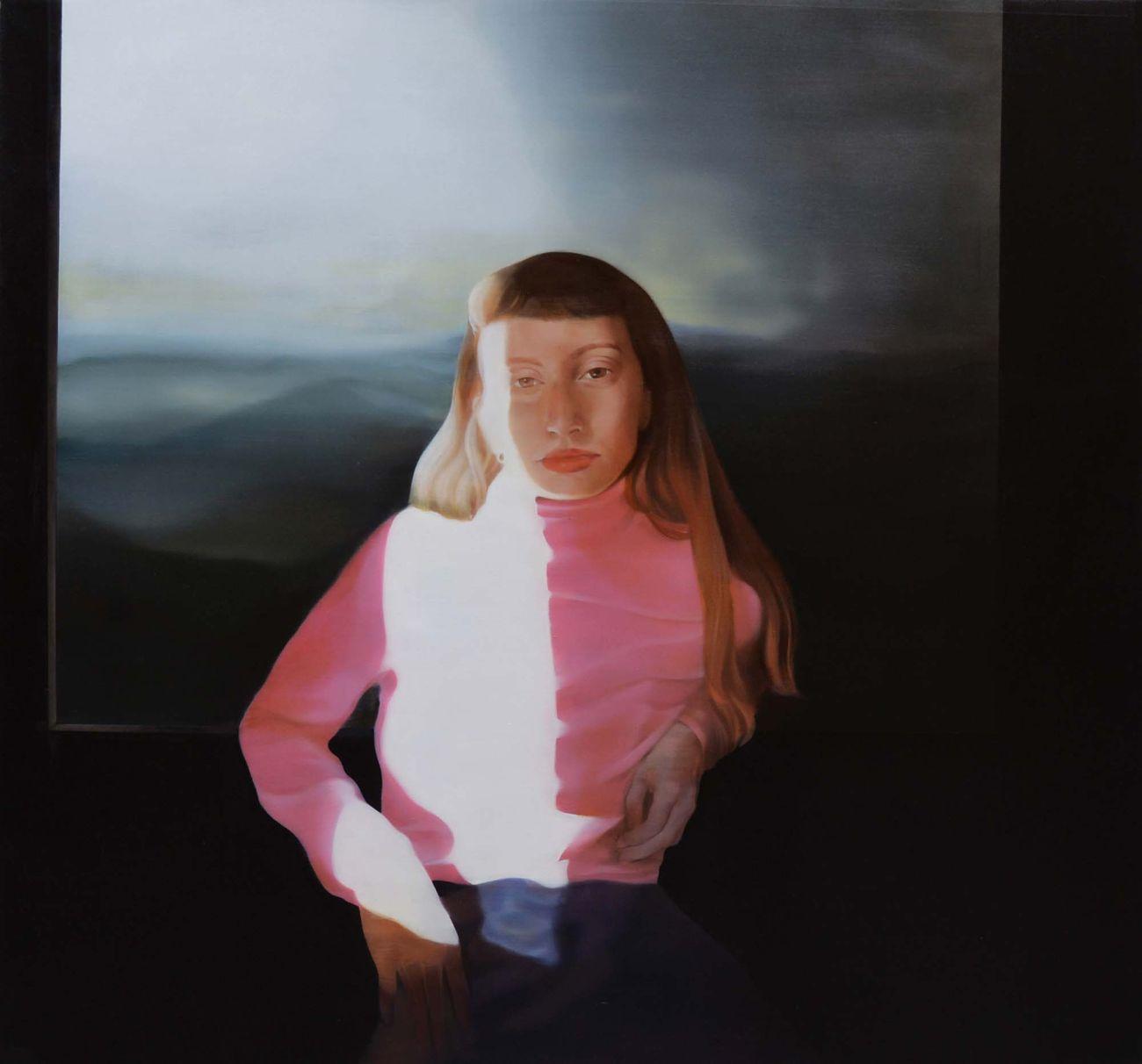 Margherita Mezzetti, Benedetta, 2019, olio su tela, 151 x 161 cm