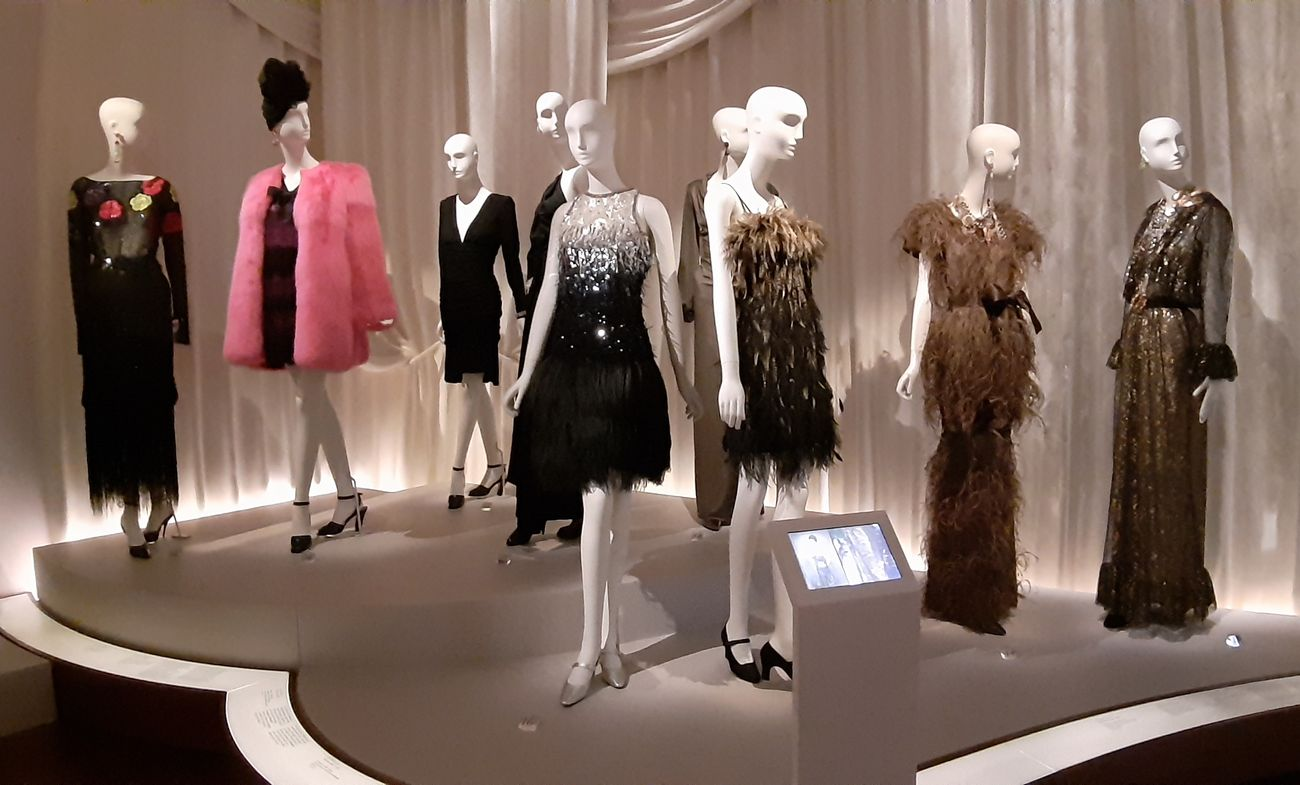Nuova presentazione delle collezioni. Musée Yves Saint Laurent, Parigi, secondo piano