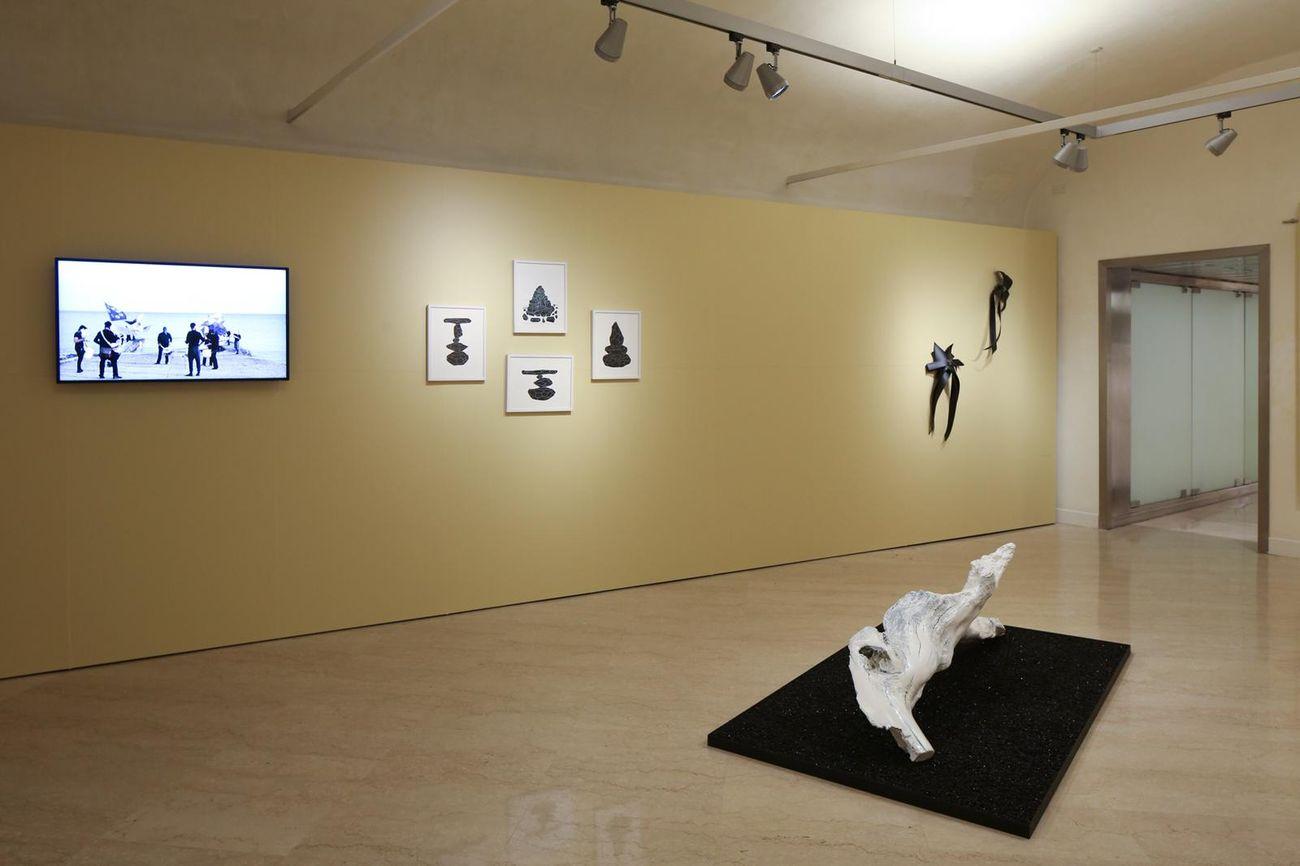 Panorama. Installation view at Fondazione del Monte di Bologna e Ravenna, Bologna 2019. Photo Alessandro Ruggeri