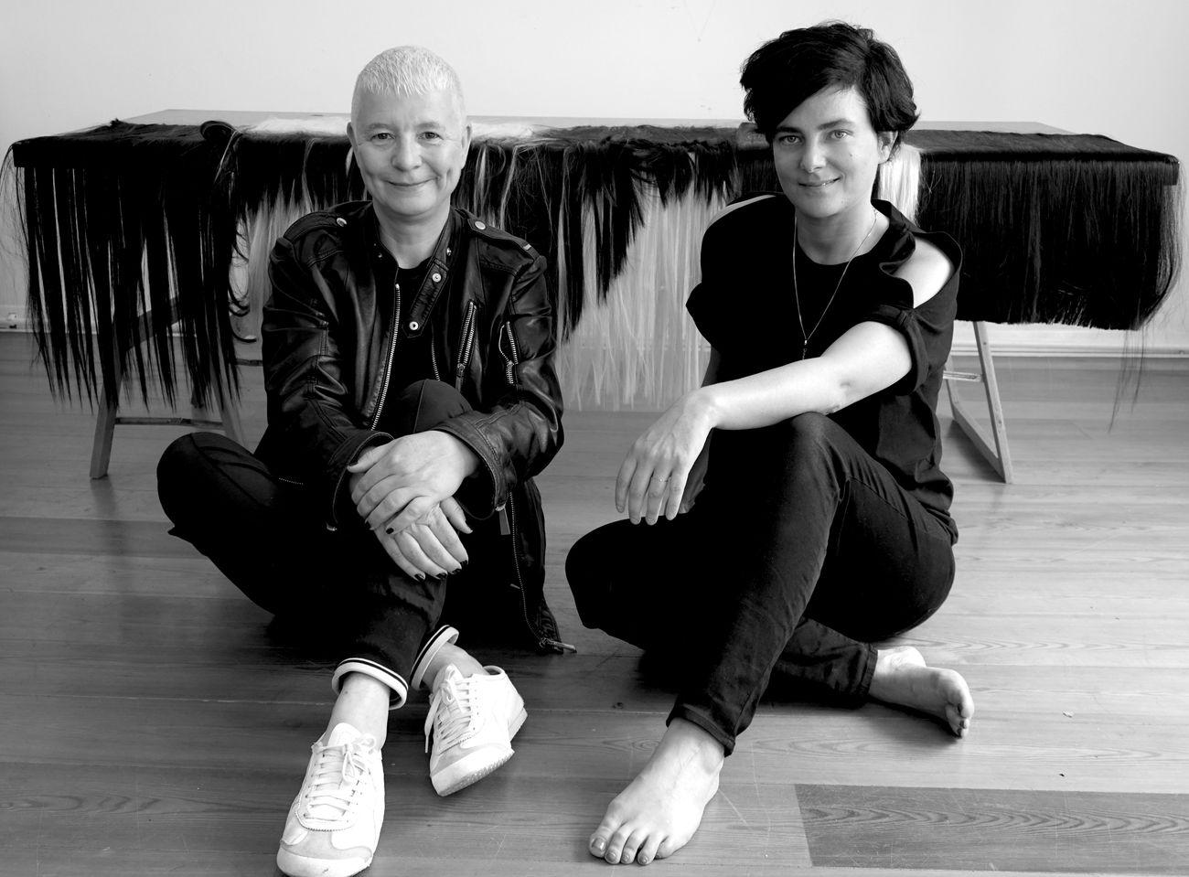 Pauline Boudry & Renate Lorenz. Photo © Bernadette Paassen
