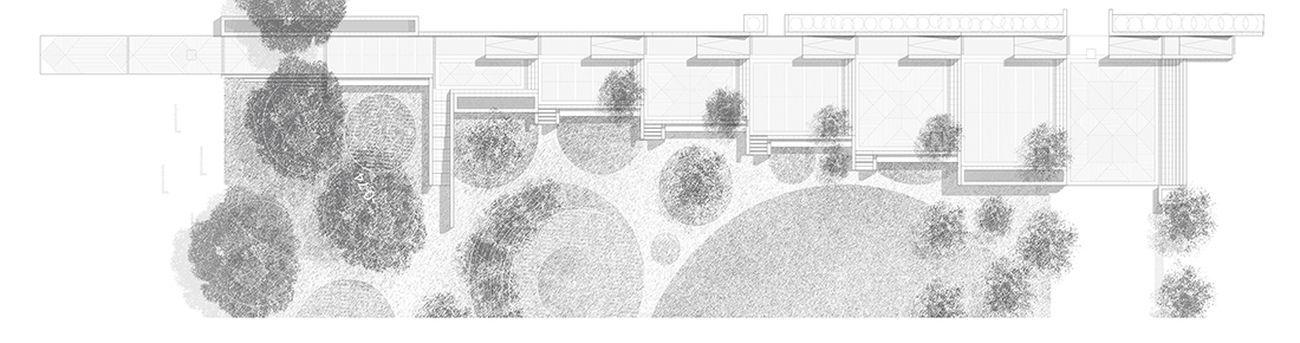 Pianta del Nuovo Centro Civico di Montemurlo, dettaglio © ECÒL - Courtesy ECÒL