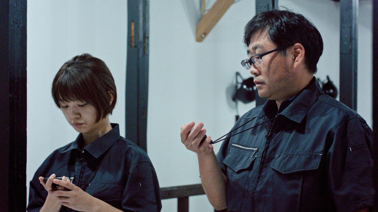 Shigeo Arikawa, Gold Town, 2017. From the series (Re)interpretation, video, four channel, 12'40'' Courtesy © Shigeo Arikawa and Galerie Mazzoli