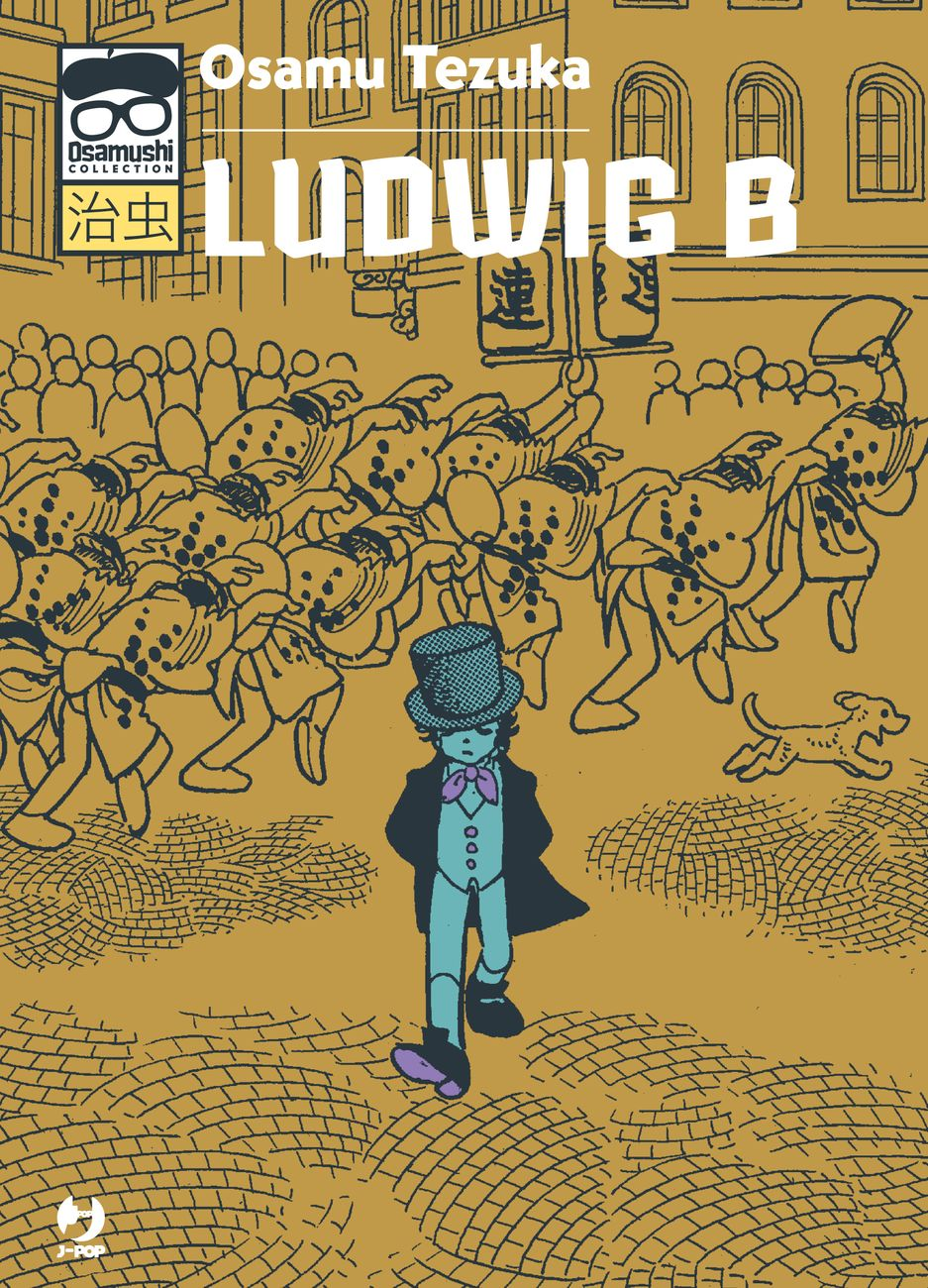 Tezuka Osamu – Ludwig B (J Pop, 2019). Cover
