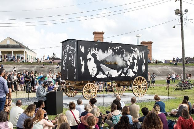 The Katastwóf Karavan, 2017. Photo Alex Marks © Kara Walker