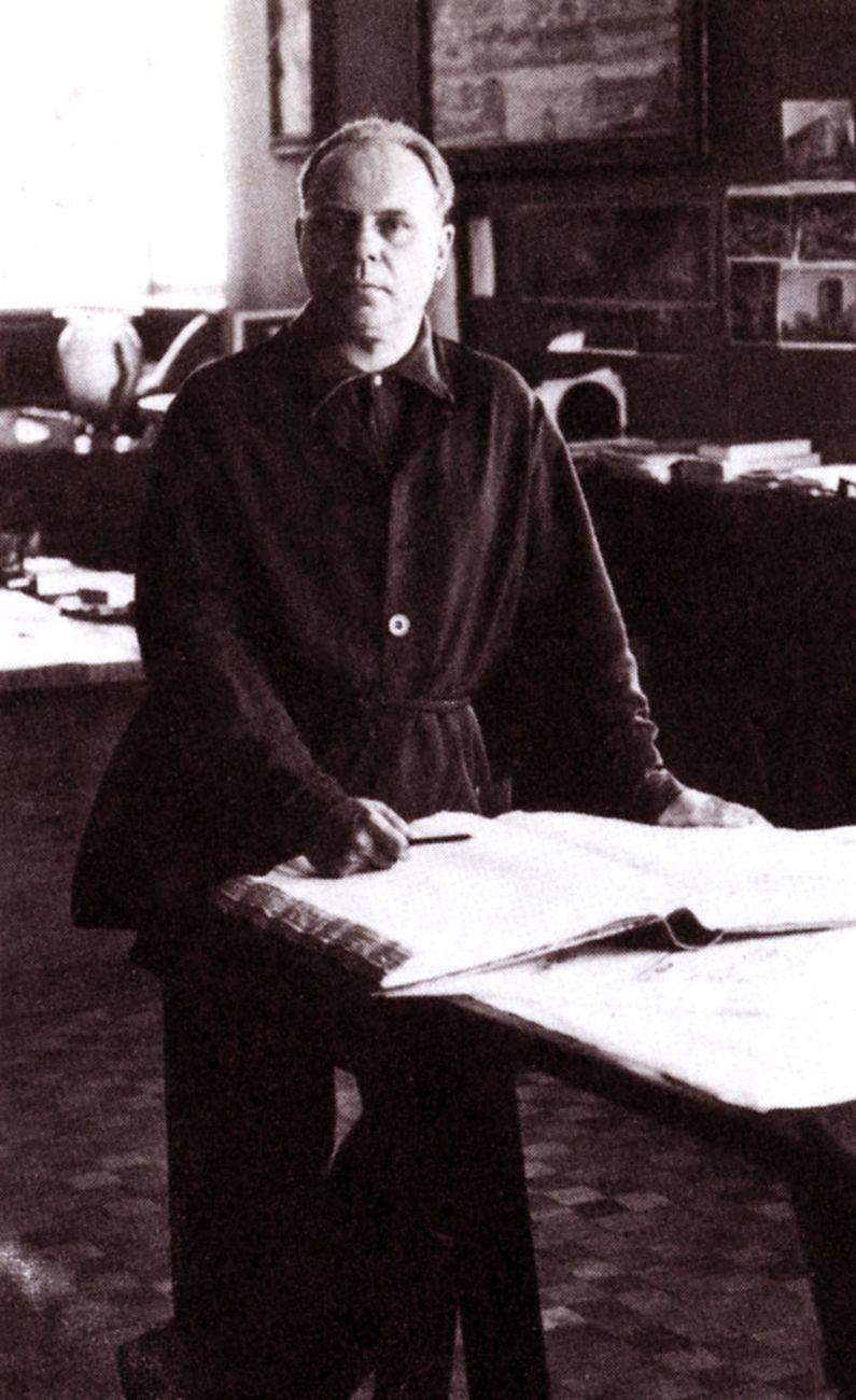 Un ritratto di Marcello Piacentini. Via Wikipedia