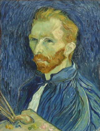 Van Gogh, Self-portrait, National Gallery of Art, Collection John Hay Whitney