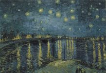 Vincent van Gogh, Starry Night Over The Rhone 1888, RMN Gran Palais, (Musèe d'Orsay)