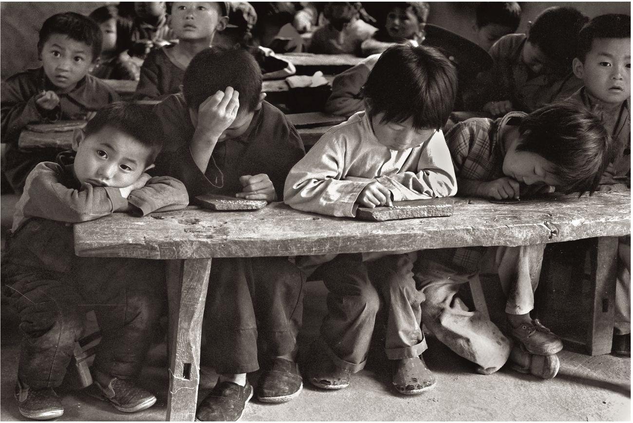 Zeng Yi, My Classroom, 1983 © photo Zeng Yi. Musei Civici del Castello Visconteo, Pavia