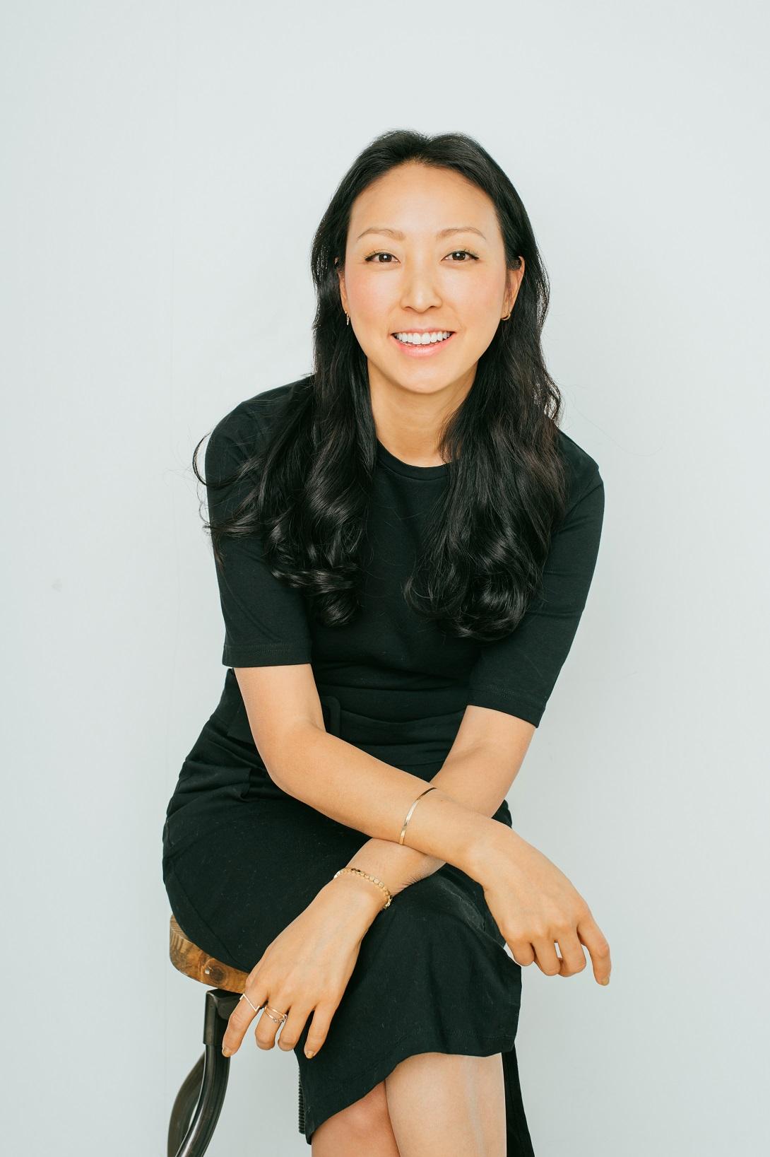 La gallerista Esther Kim Varet