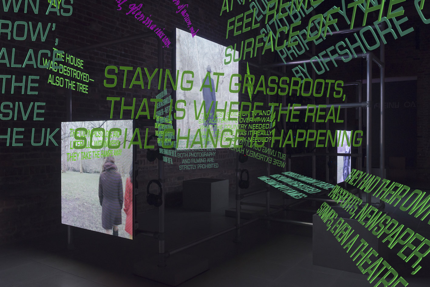 Hito Steyerl Power Plants Installation view, 11 April – 6 May 2019, Serpentine Galleries Design by Ayham Ghraowi, Developed by Ivaylo Getov Courtesy of the Artist, Andrew Kreps Gallery (New York) and Esther Schipper Gallery (Berlin) Photograph: © 2019 readsreads.info