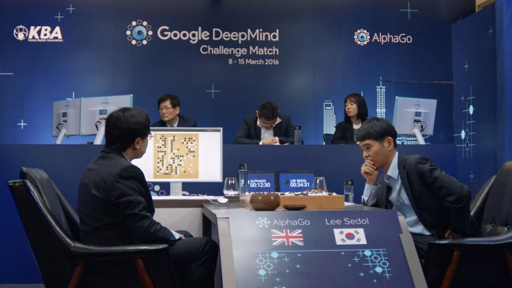 AI: More Than Human AlphaGo vs Lee Sodol © AlphaGo Movie