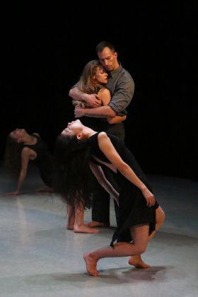 Photo of Xin Ying, Anne O'Donnell, Ben Schwartz and Laurel Dalley Smith in Larry Keigwin's Lamentation Variation by Christopher Jones by Melissa Sherwood