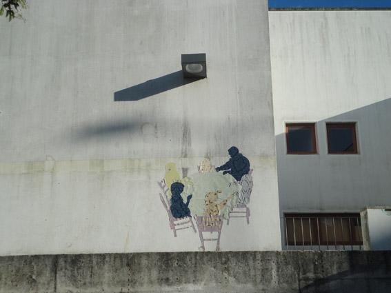 Patricia Geraldes, Projecto Fantasmas, Manobras no Porto, courtesy l'artista