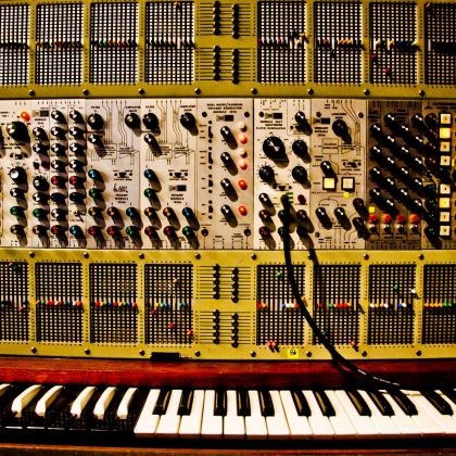 ARP 2500, owned by Jean-Michel Jarre. Photo Éric Cornic © EDDA JMJ
