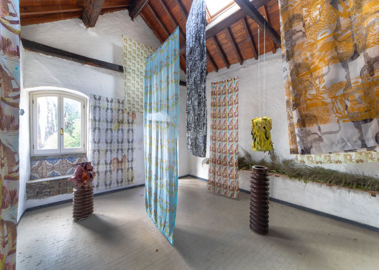 Alessandro Roma. Process and Form. Exhibition view at Casa Museo Jorn, Albissola Marina 2018. Photo Matteo Zarbo