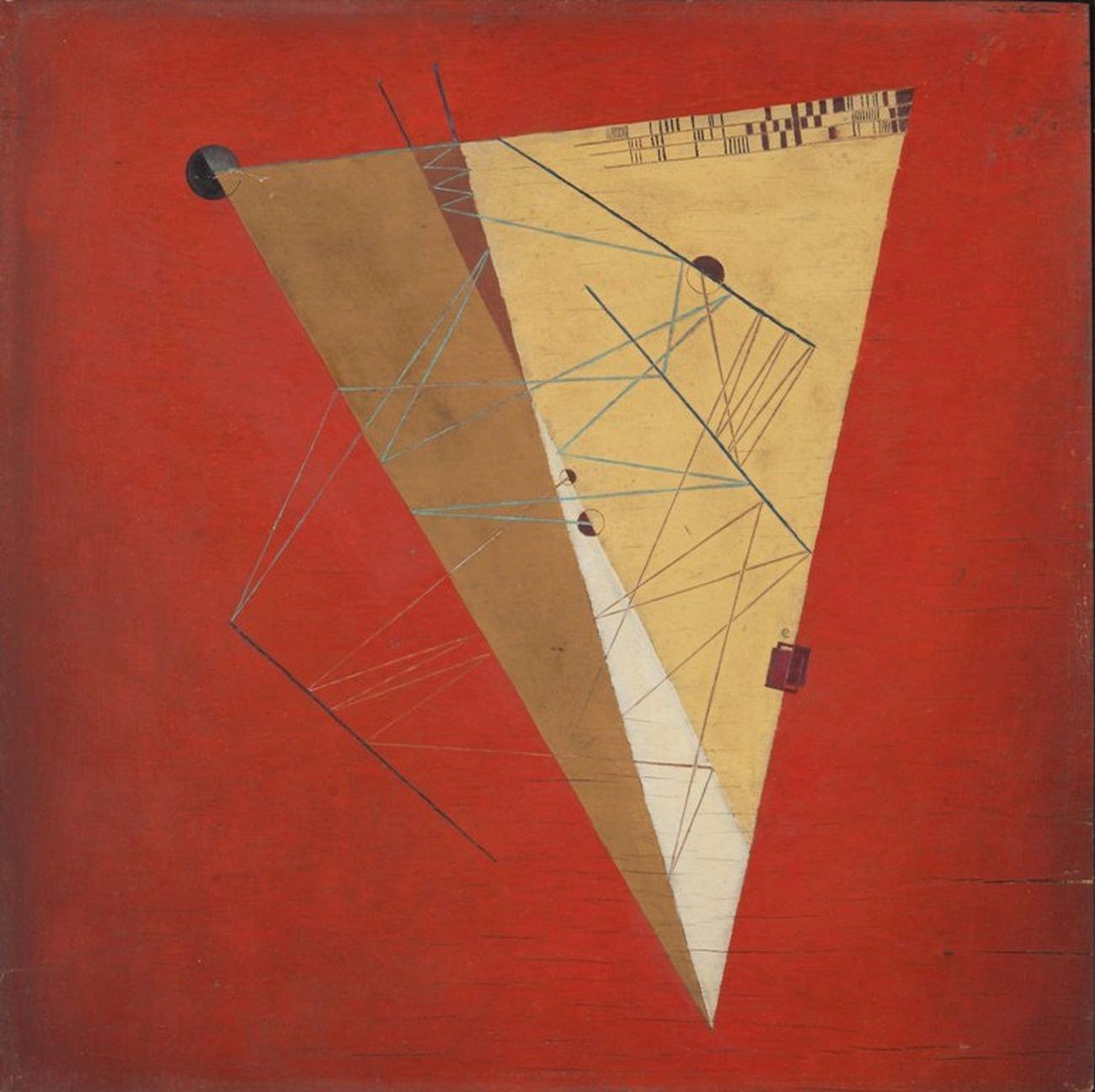 Alfred Ehrhardt, Abstrakte Komposition, s.d. © Alfred Ehrhardt Stiftung