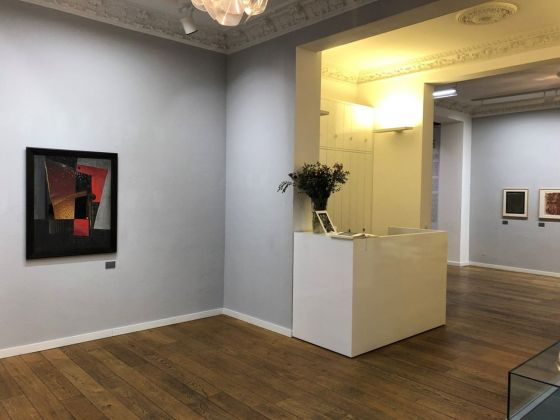 Alfred Ehrhardt. Painting, Drawing, Prints. Exhibition view at Alfred Ehrhardt Foundation, Berlino 2019. Courtesy Alfred Ehrhardt Stiftung