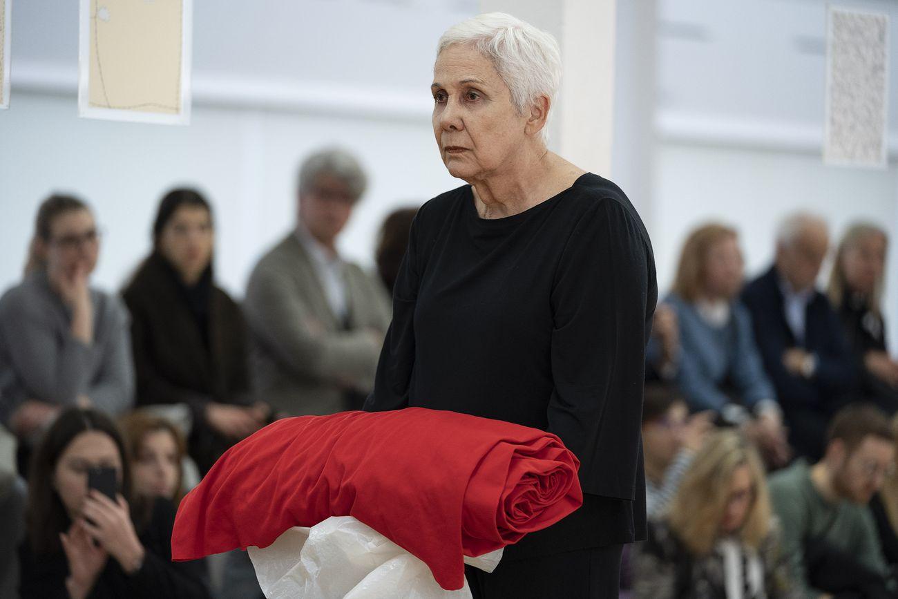 Anna Maria Maiolino, Al di là di, 2019. PAC, Milano. Photo Lorenzo Palmieri