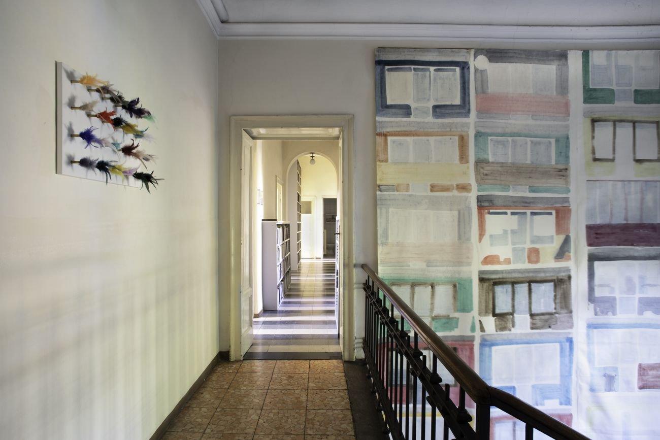 Appocundria. Installation view at Casa Testori, Novate Milanese 2019. Photo © Maki Ochoa