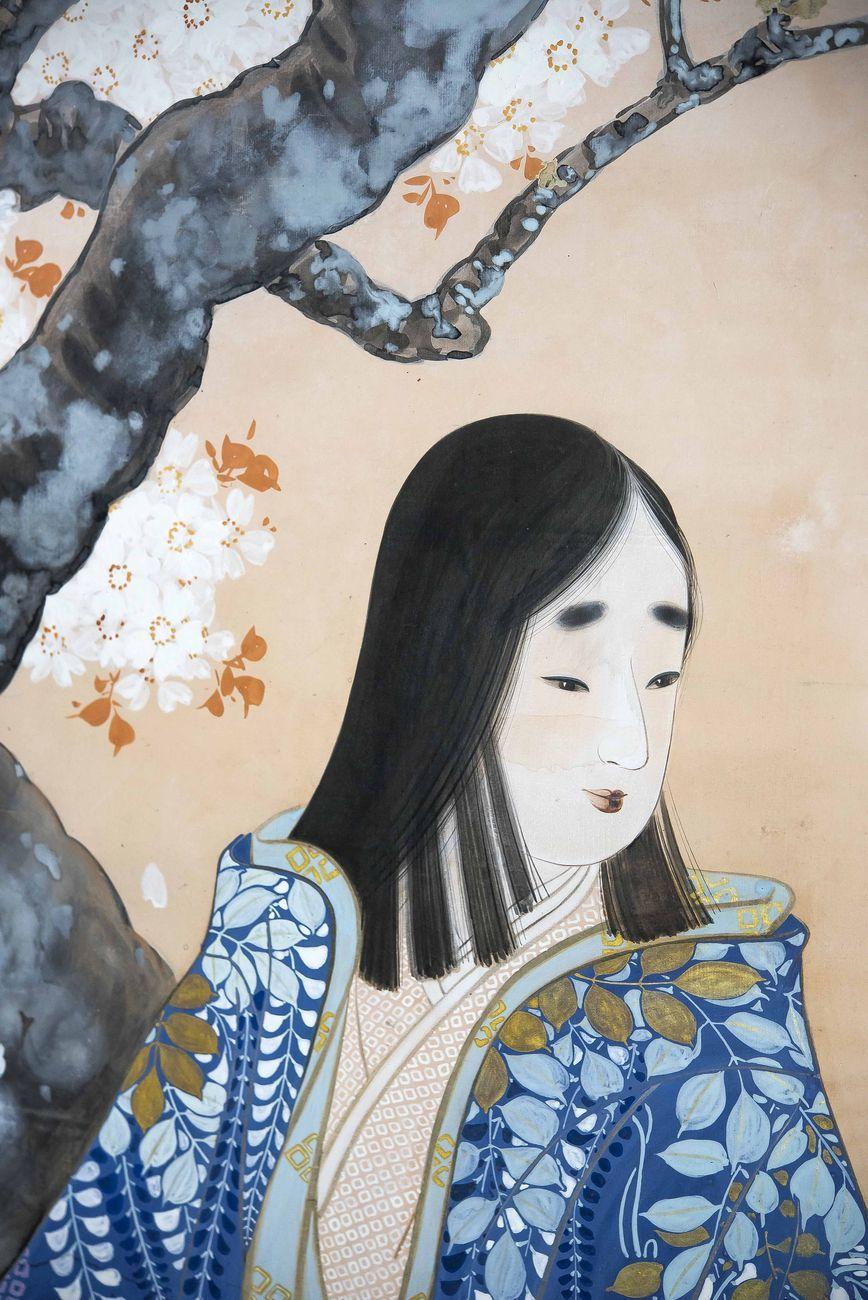 Dipinto Su Carta E Seta Other Asian Antiques