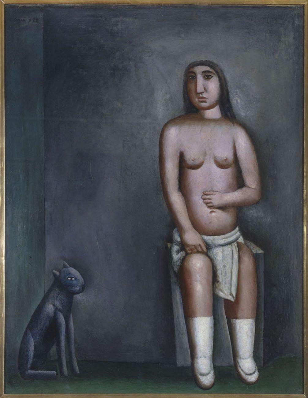 Carlo Carrà, La casa dell'amore, 1922. Pinacoteca di Brera, Milano