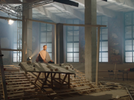 "Dmitry Krymov, video installation for the exhibition of the Pushkin Museum of Fine Arts ""There is a beginning in the end"", a frame shot from the video, the property of the author, 2018"