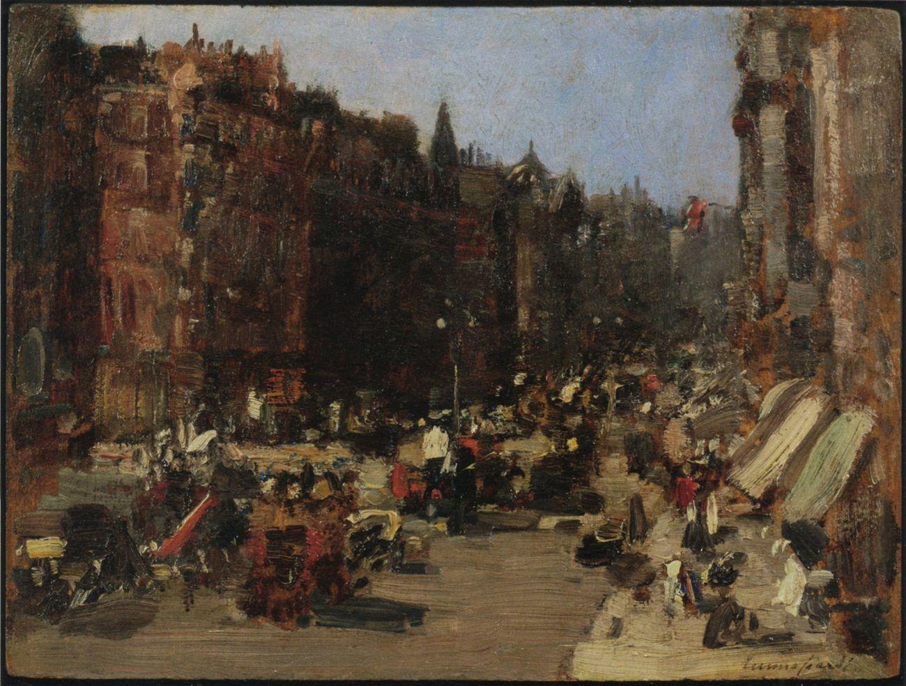 the latest 3e841 252ba Emma Ciardi, Oxford Street, 1908. Courtesy Galleria Arte ...