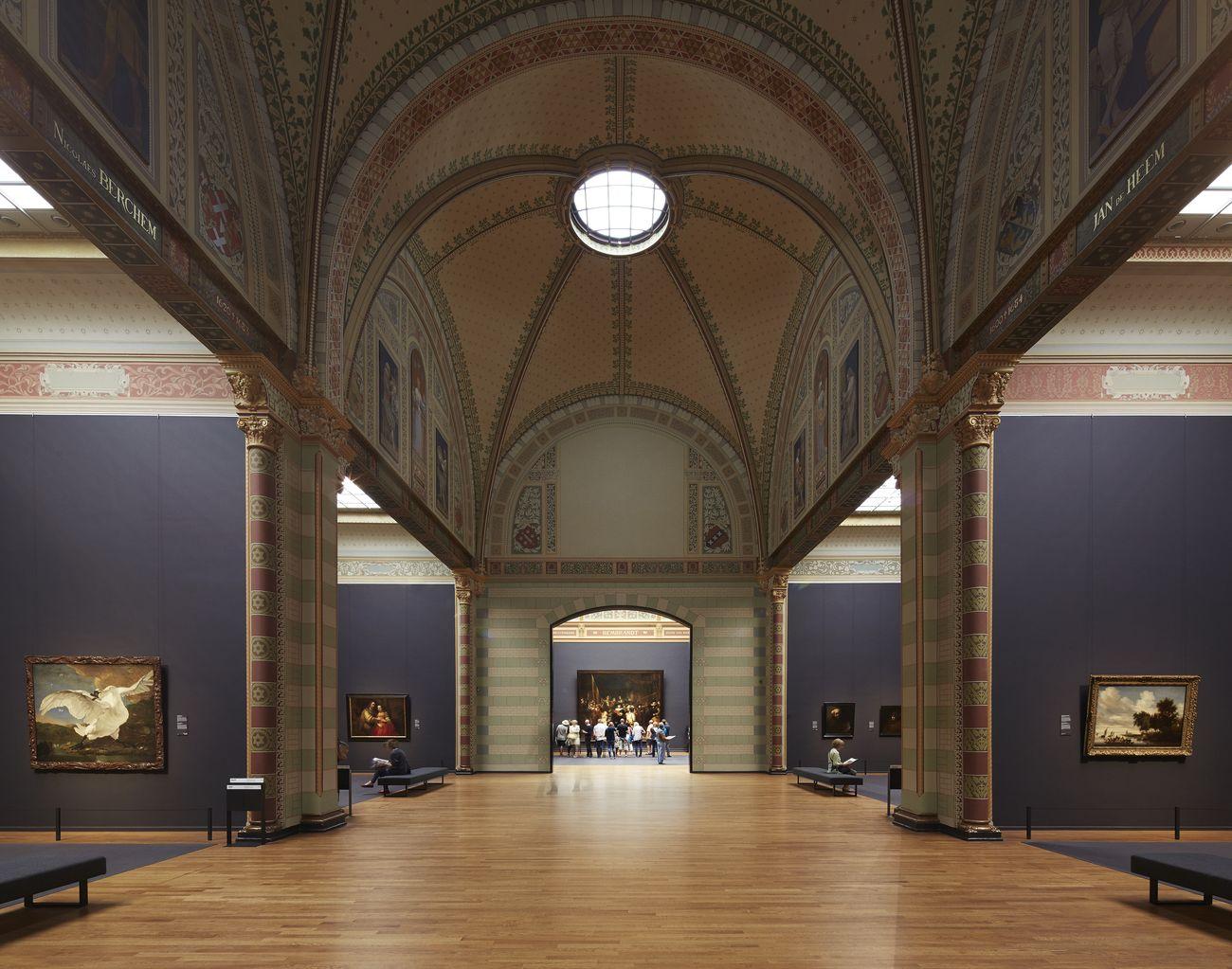 Eregalerij, Rijksmuseum, Amsterdam. Photo Erik Smits, 2015