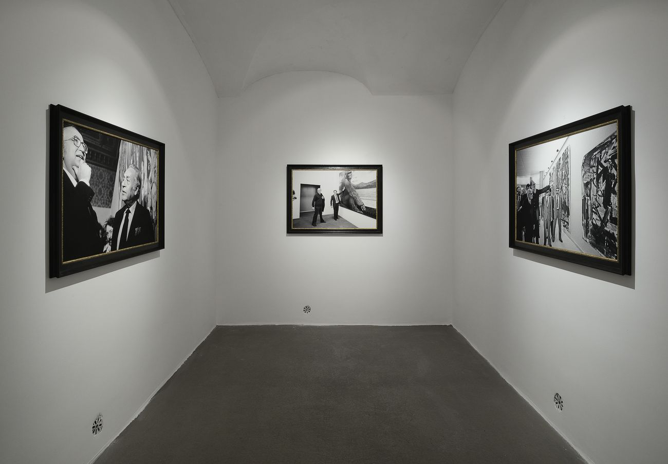 Francesco Vezzoli. Party Politics. Installation view at Fondazione Giuliani, Roma 2019. Photo Roberto Apa