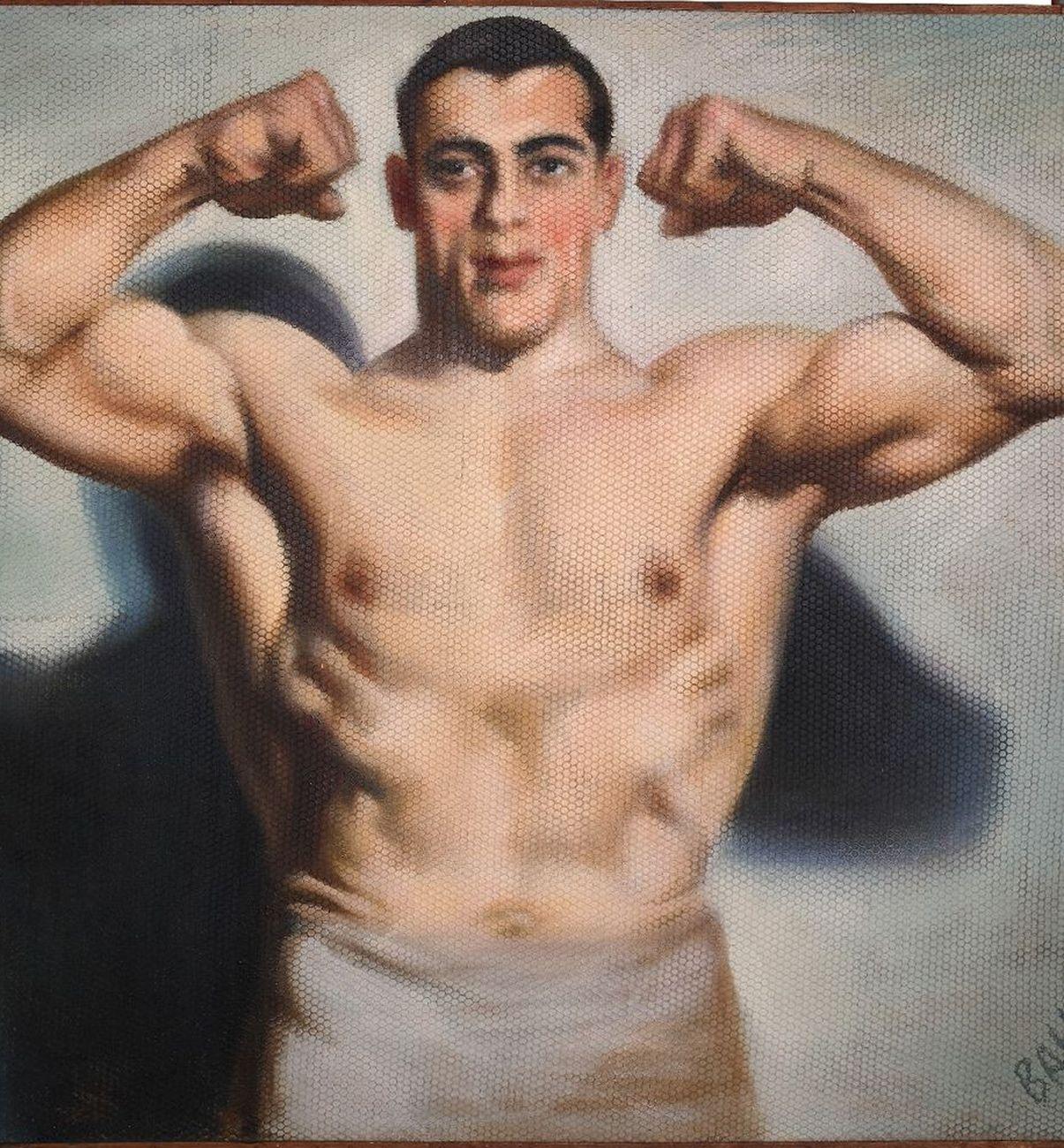 Giacomo Balla, Primo Carnera, 1933. Roma, Fondazione Cerasi