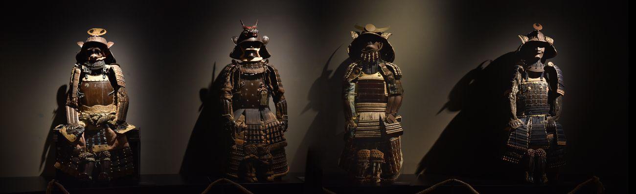 Giappone. Terra di geisha e samurai. Exhibition view at Casa dei Carraresi, Treviso 2019