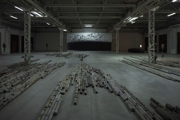 Giorgio Andreotta Calò. CITTÀDIMILANO. Exhibition view at Pirelli HangarBicocca, Milano 2019. Courtesy of the artist & Pirelli HangarBicocca. Photo Agostino Osio